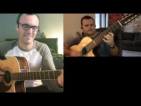 8-string guitar collaboration - vlog #256 august 12th 2017