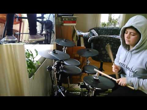 Cradle of Filth - The Foetus of a New Day Kicking (Drum Cover)