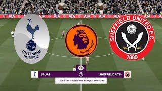 FIFA 21 | Tottenham V Sheffield United | Premier League 2020/21 | Matchday 34 | Full Gameplay
