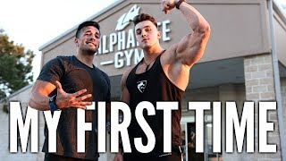 MY FIRST TIME AT ALPHALETE GYM ft. Christian Guzman & Maxx Chewning