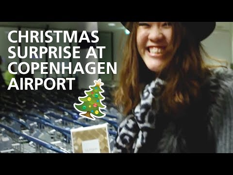 Copenhagen Airport Christmas Surprise!