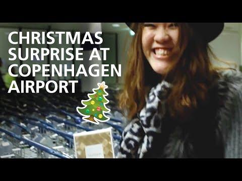 Christmas Surprise at Copenhagen Airport!