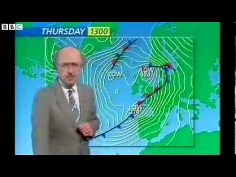 BBC Michael Fish 15th October 1987 Hurricane Forecast Full Version!