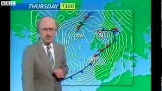 BBC Michael Fish 15th October 1987 hurricane forecast full version!