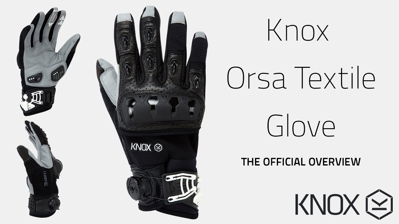 Orsa Textile OR3 Glove - The official Overview from KNOX