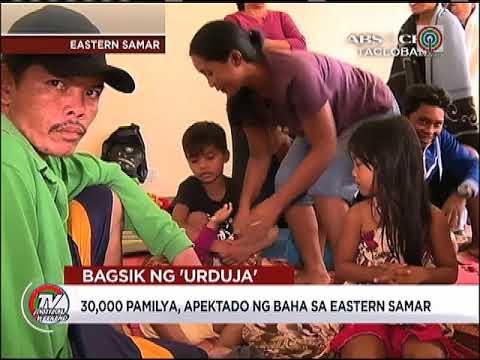 Eastern Visayas hinagupit ng bagyong 'Urduja'