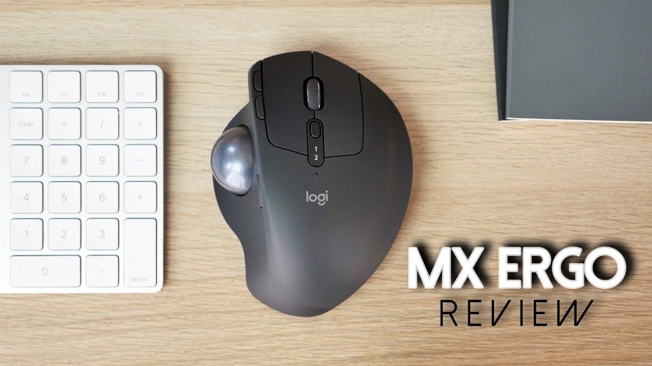 0c8f1d54662 LOGITECH MX ERGO REVIEW | A Trackball for Creators? BIG GIVEAWAY ...