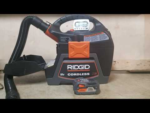 How Long Will A 4 Amp Hr  Battery  Last In A Ridgid Vacuum