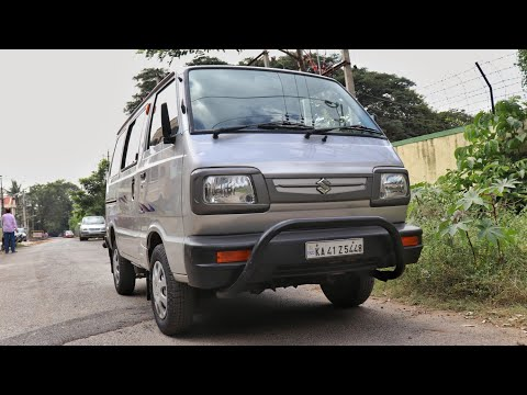 Maruti Suzuki Omni Test Drive Review | 8 Seater Minivan Family Wagon | Rishabh Chatterjee