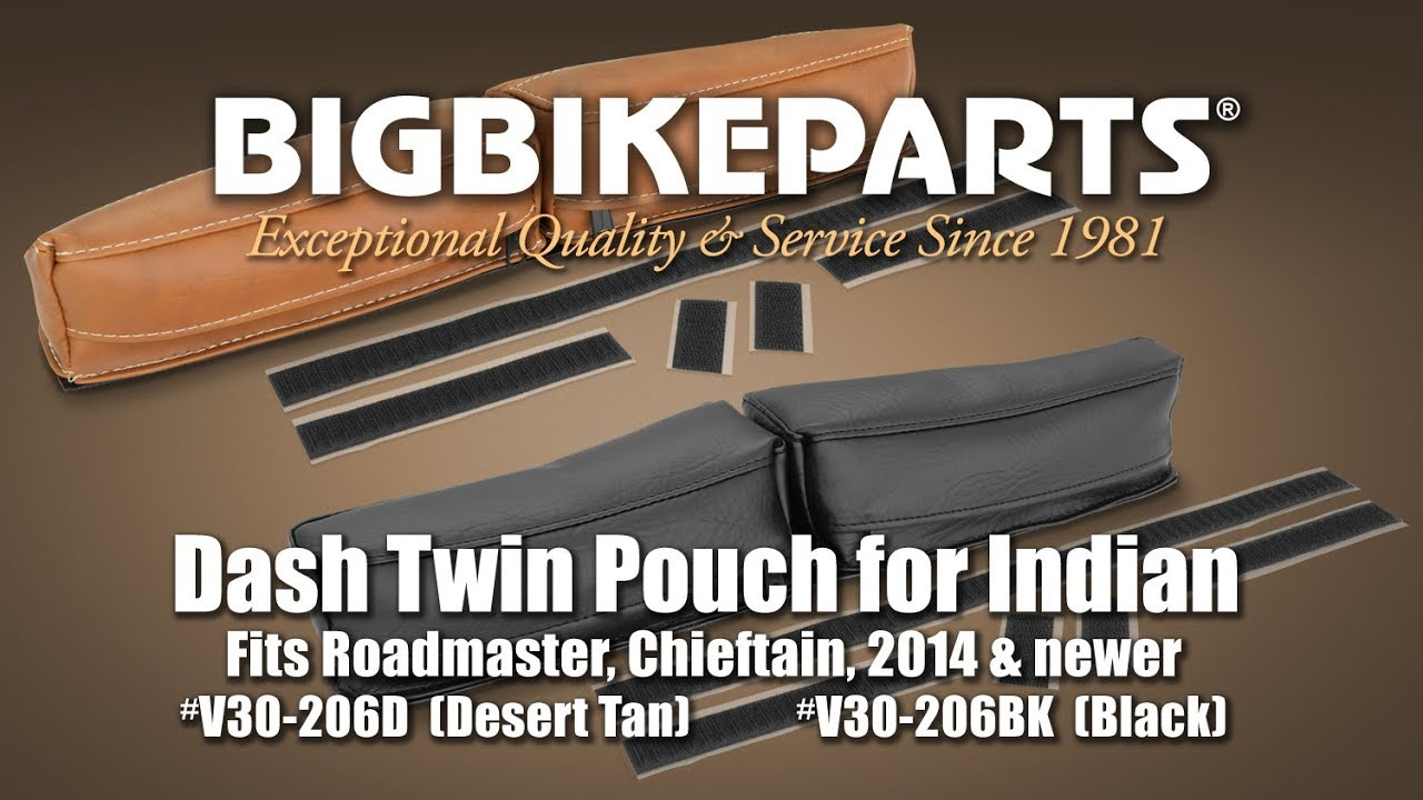 Dash Twin Pouch For Indian