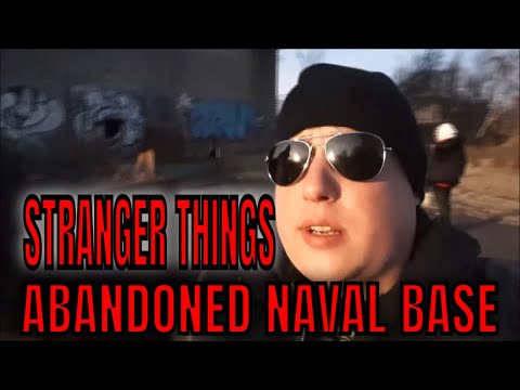 Abandoned  NAVAL BASE, MK-ULTRA, EXPERIMENTS,  TIME TRAVEL, inspired  STRANGER THINGS, SCARY EXPLORE