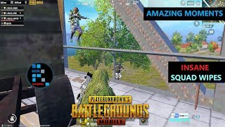 "[Hindi] PUBG MOBILE | INSANE ""RON GAMING VS SQUAD"" WIPEOUTS & EAGLE FUNNY MOMENT"