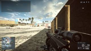 BF4 Strafing Sniper Test