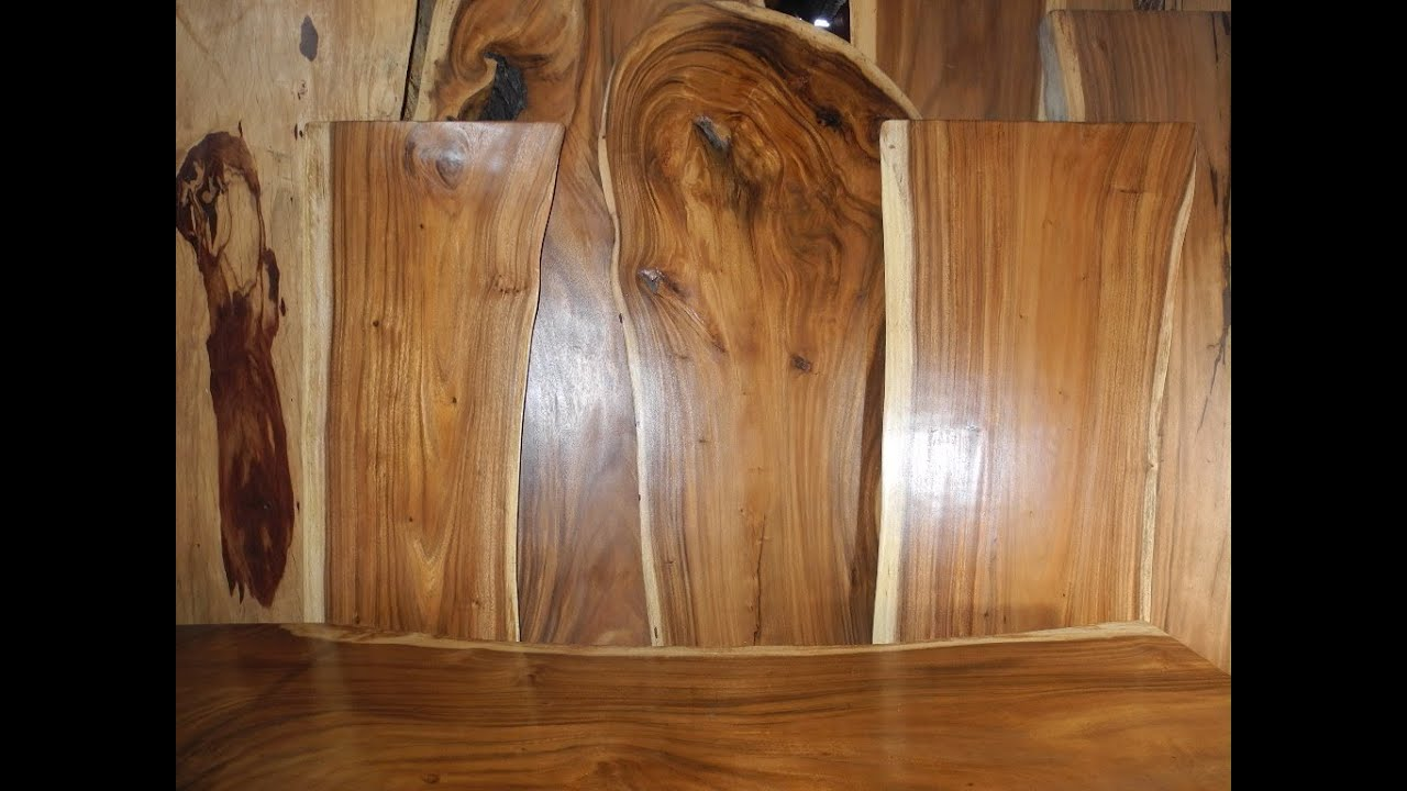 Slab Dining Table Solid Wood Table Slabs Youtube