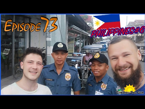 Police of San Juan (Philippines). Towards The Sun by Hitchhiking 73