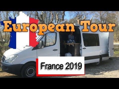 European Tour 2019 - France By Camper Van