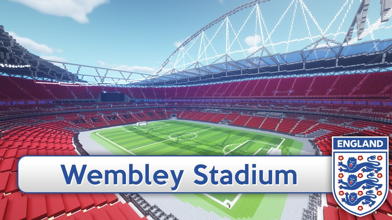 Minecraft megabuild wembley england national stadium minecraft megabuild wembley england national stadium download official youtube sciox Gallery