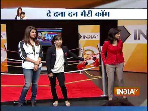 Find Out What Made Mary Kom Cry After Watching The Film - India TV
