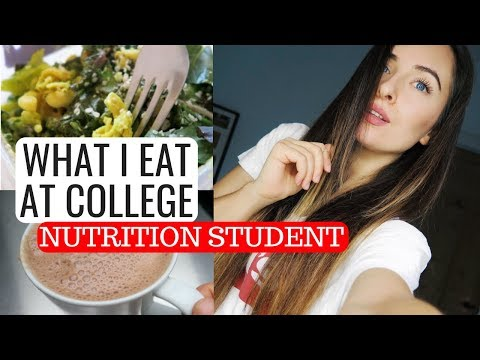 WHAT I EAT AT COLLEGE | Nutrition Student | Gluten Free, Dairy Free, Plant Based