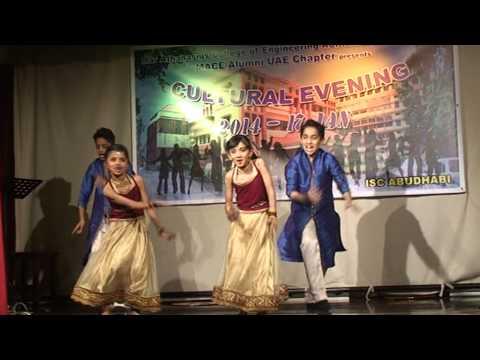 MACE kids UAE performing Radha Teri Chunri