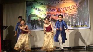 MACE kids UAE performing Radha Teri Chunri
