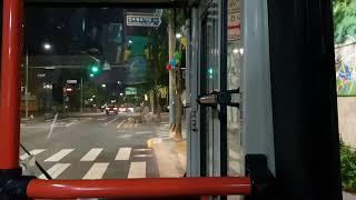 서울 강북구 마을버스 인수운수 강북01번 주행영상(자막…