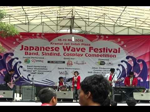 Akairo - Blue Bird ( Ikimonogakari cover ) @ Japanese Wave Festival KJI