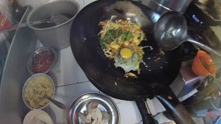 jakarta street food 1203 part 1 thailand fried rice by bubur tio ciu nasi goreng thailand5090