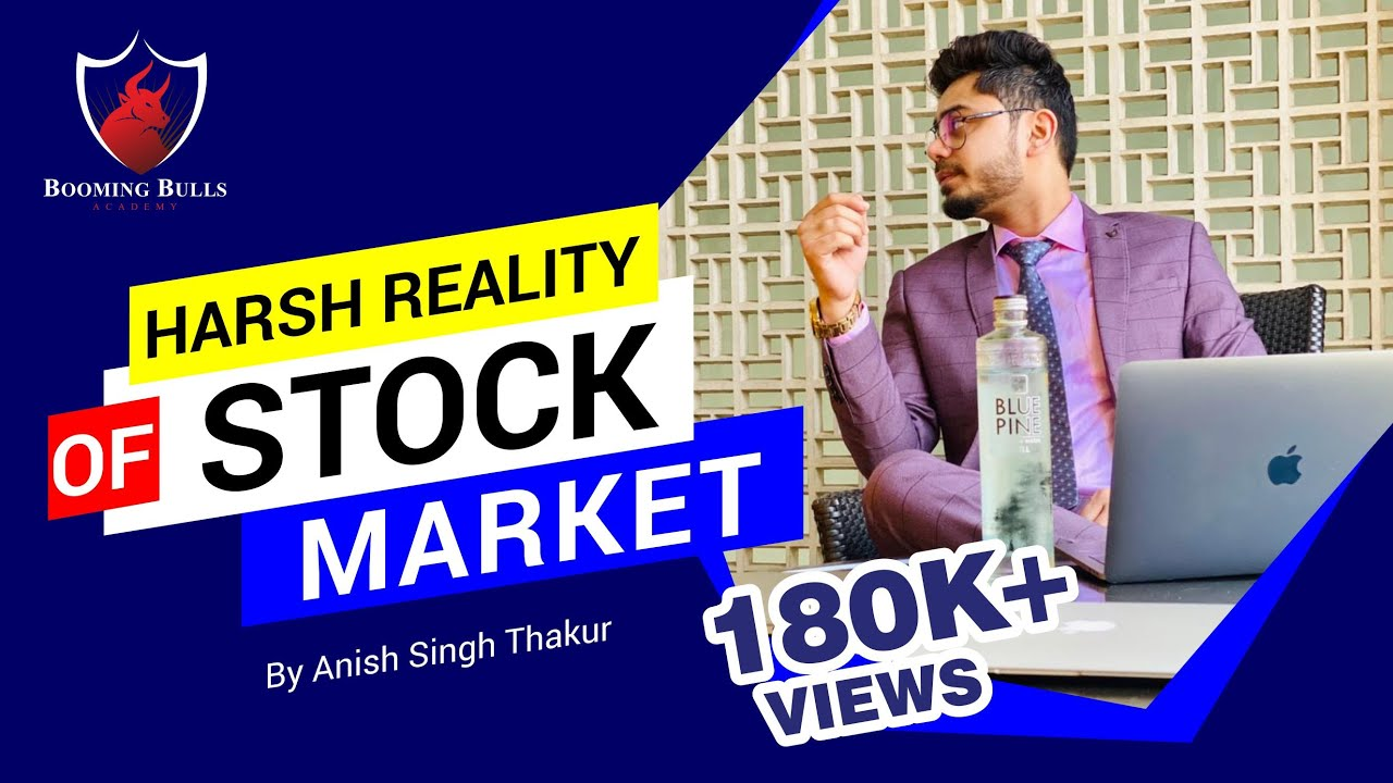 Stock Market TRUTH || Harsh Reality || Dropout? Quit my Job? Quick Profits || Anish Singh Thakur ||
