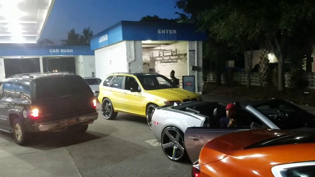 Bbw car wash