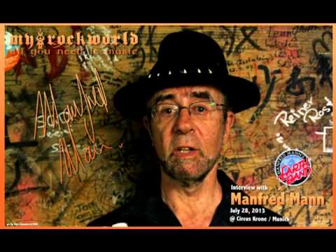 myRockworld - all you need is music - exclusive interview with Manfred Mann