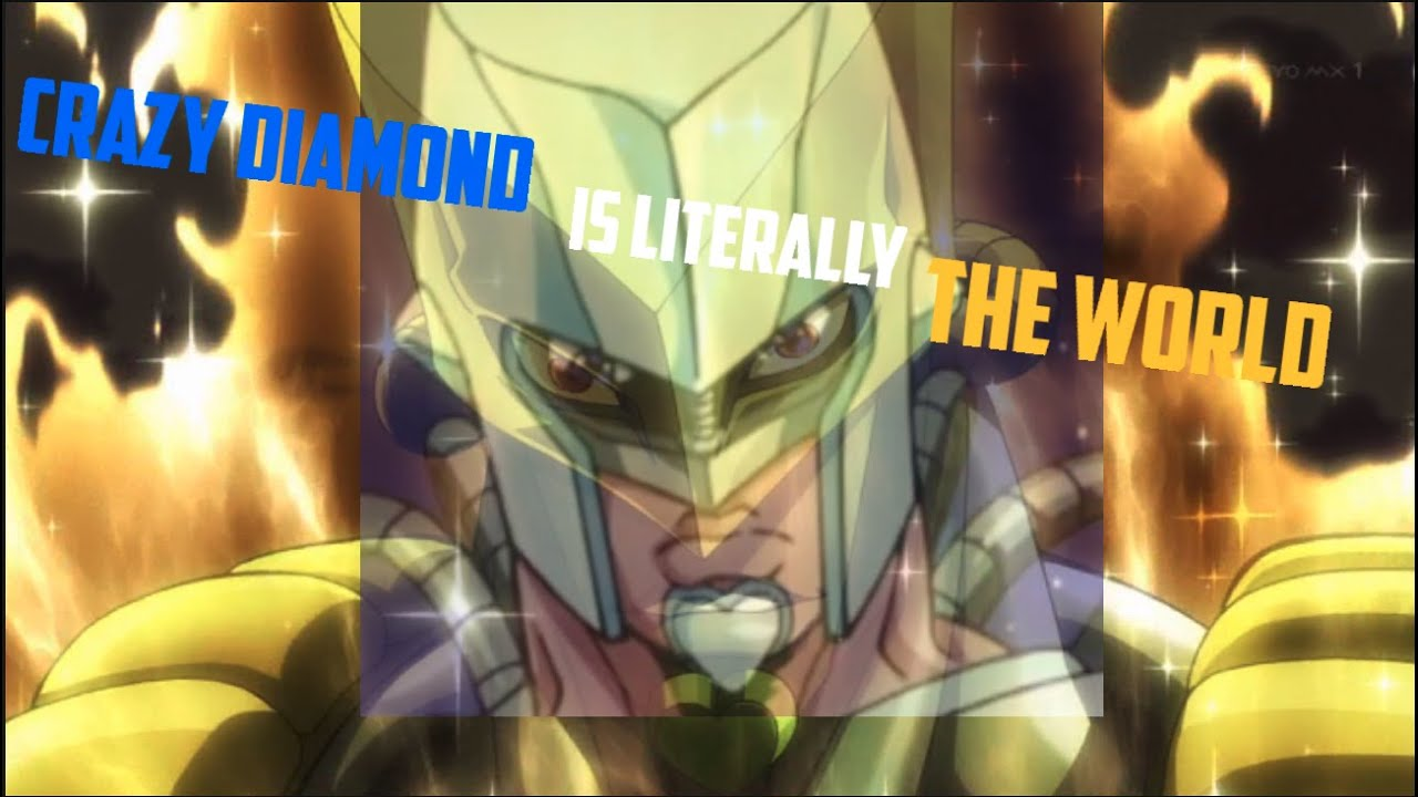 Crazy Diamond And The World Are The Same Stands Jojo S Bizarre Adventure Youtube The world super action statue (released). crazy diamond and the world are the