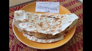 Омлет в лаваше: рецепт от Foodman.club