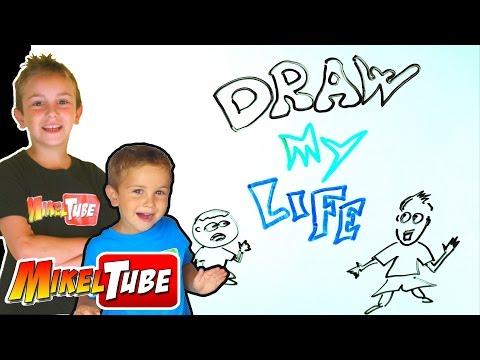 Draw My Life MikelTube - Mi vida en dibujos