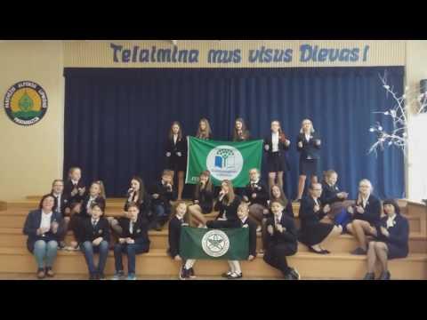 "Konkursas ""Darni mokykla"". A. Lipniūno progimnazijos daina ""GAMTA IŠLAISVINS MUS"". 2017-05-17"