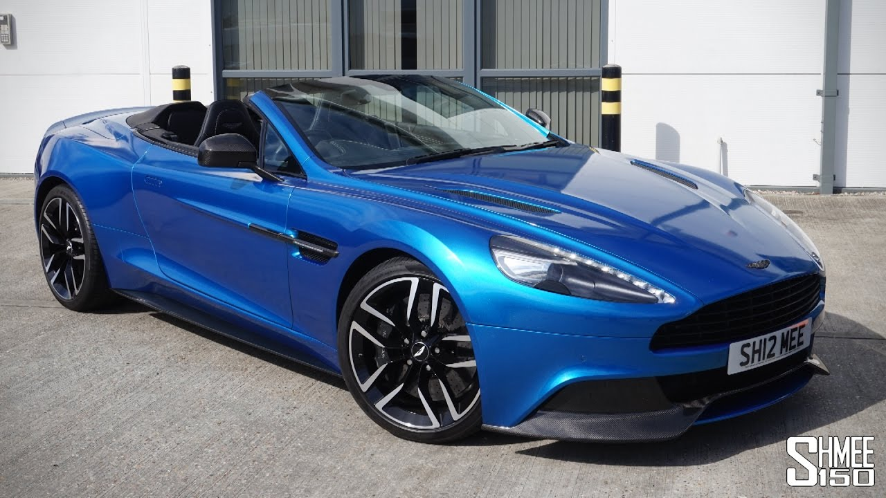 collecting my aston martin vanquish volante a perfect grand tourer youtube. Black Bedroom Furniture Sets. Home Design Ideas