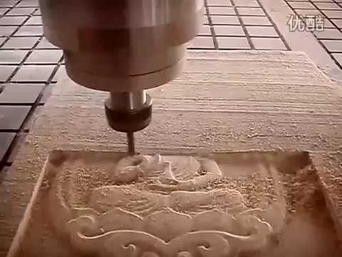 Wood Cnc Router Wood Relief Engraving Machine Video