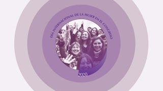 Acto de conmemoración del Día Internacional de la Mujer 2020 en el Congreso Nacional