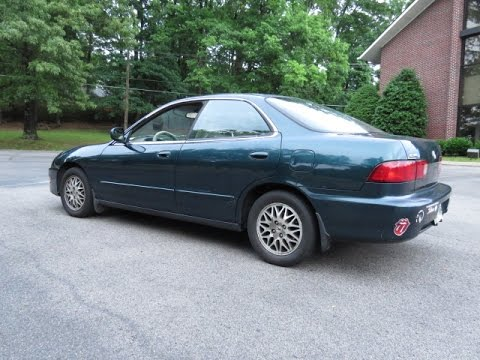 Acura integra 3rd gen 4 door sedan trunk leak fixes diy - Acura integra exterior door handle ...