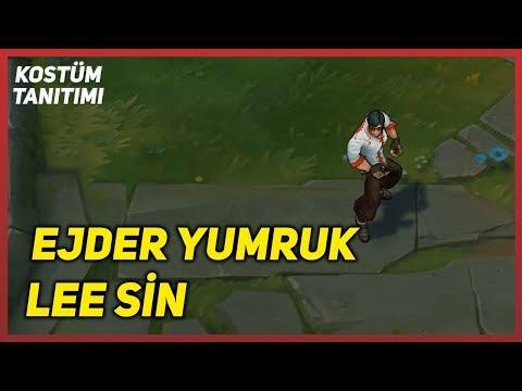 Ejder Yumruk Lee Sin (Kostüm Tanıtımı) League of Legends