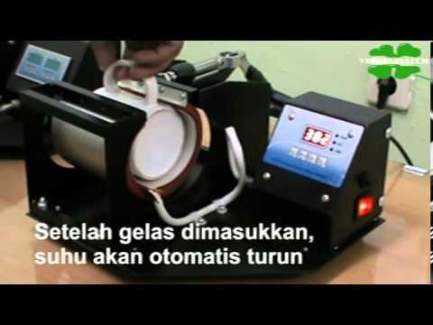 Video Penggunaan Mesin Press untuk Cetak Mug