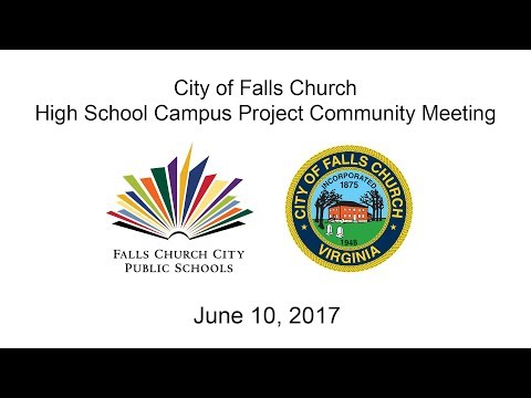 High School Campus Project Community Meeting: June 10, 2017