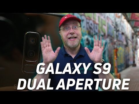 What the heck is the Galaxy S9's dual aperture?