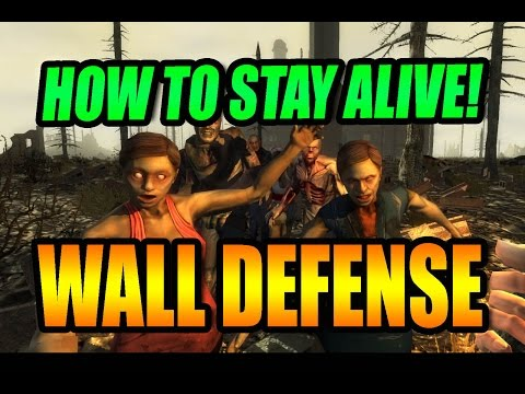 7 Days To Die   Wall Defense   How To Stay Alive