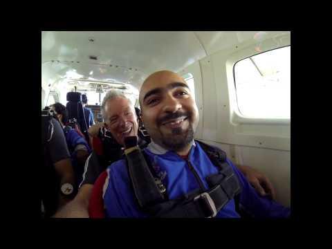 Waleed Nasir's Tandem skydive!