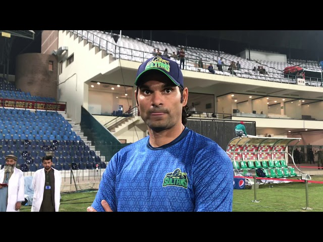 Cricketer Irfan is Excited for Matches in Multan his Home Town