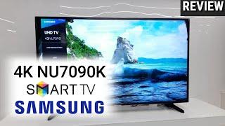 REVIEW SAMSUNG 4K NU7090K SMART TV indonesia HD