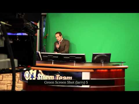 CBS11 KTVT Behind the Scenes of a Weather Promo