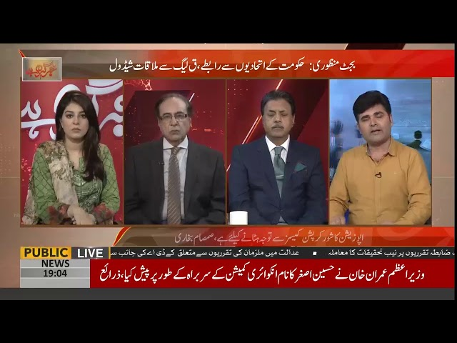 Appointment of Hussain Asghar as Chairman Commission is entirely PM Imran Khan's decision?