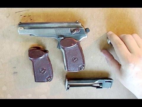 как переделать газовый пистолет в травматический